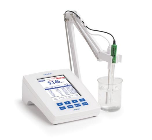 实验室研究二级台式pH / mV / ISE仪表 -  HI5222