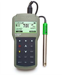 Professional Waterproof Portable pH/ORP Meter - HI98190