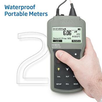 Portable Waterproof pH Meter