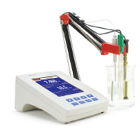 HI4222 Research Grade pH/ORP/ISE Benchtop Meter