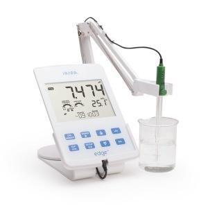White edge pH meter