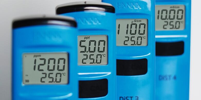 DiST conductivity and TDS meters