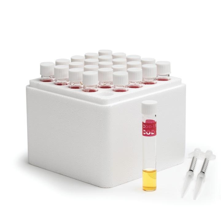 HI93754A-25 COD Low Range Reagent Vials, EPA Method