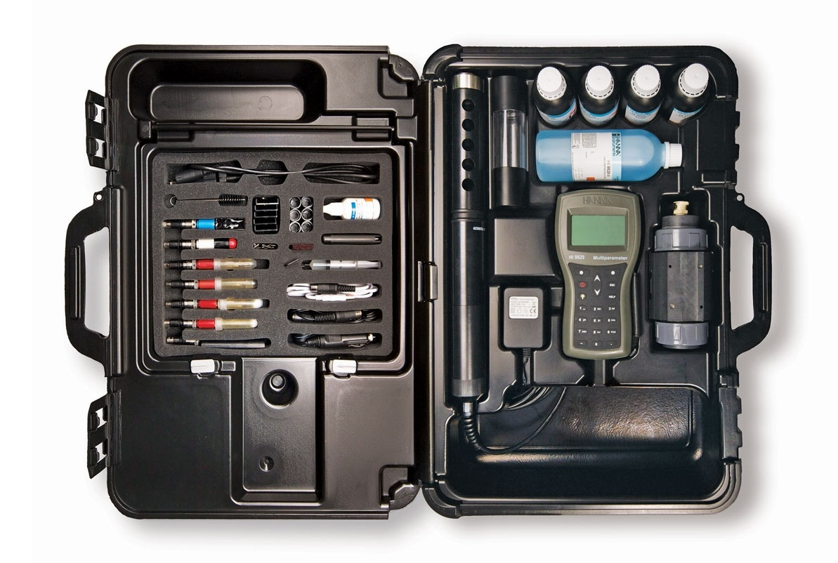 Complete Kit of the HI9829