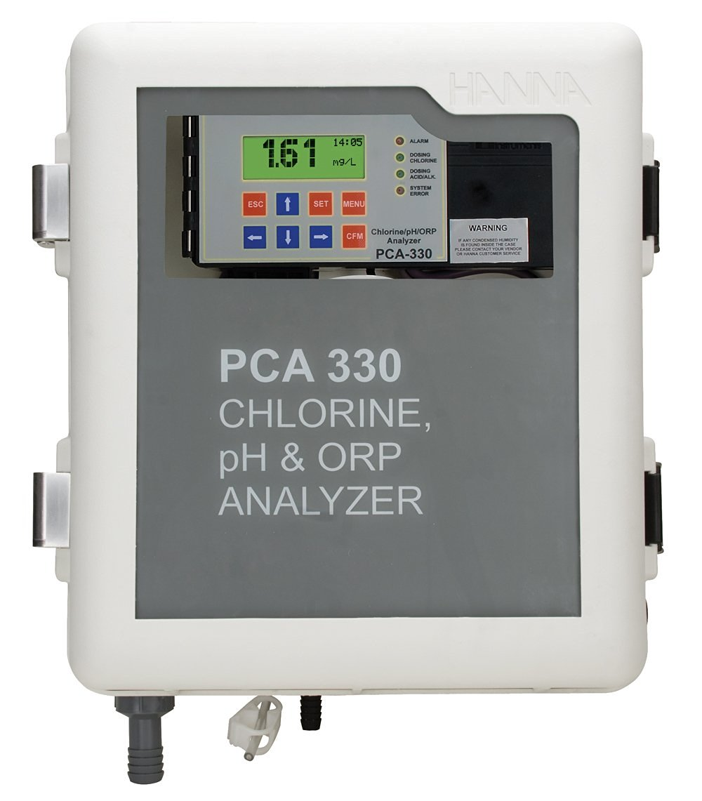 Hanna PCA300 Sanitation Controller - Chlorine, pH & ORP Analyzer
