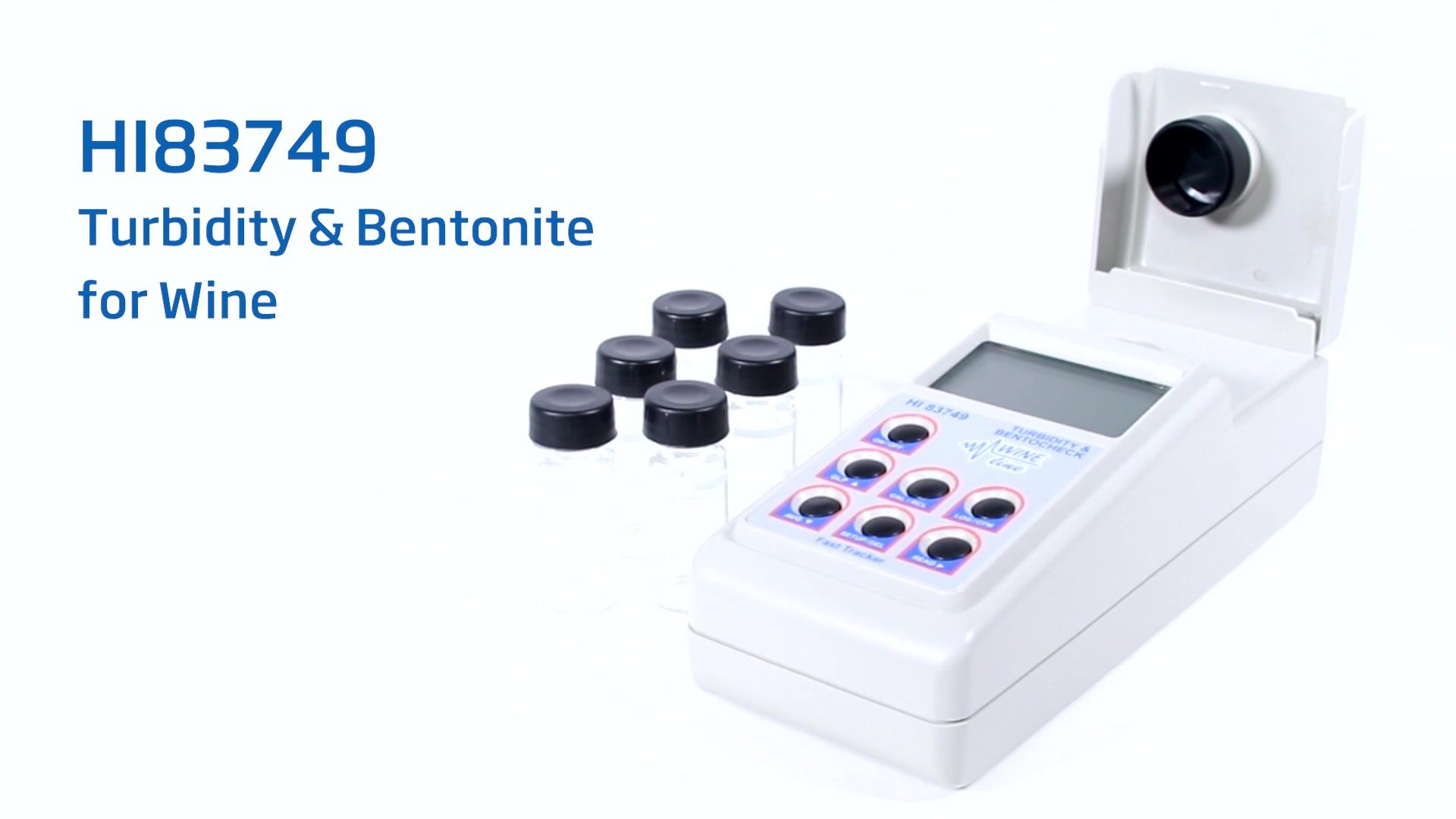 HI83749 Turbidity and Bentonite Meter for Wine-thumb