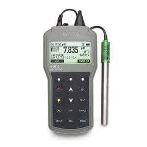 Professional Waterproof Portable pH/ORP/ISE Meter - HI98191
